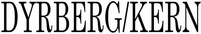 Dyrberg/Kern